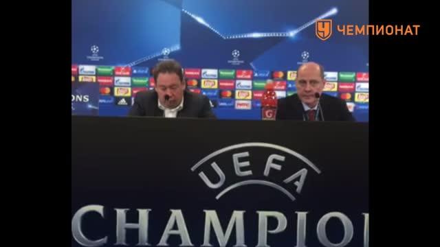 Леонид Слуцкий об игре с «Байером» в Лиге чемпионов