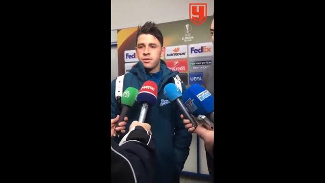 Жулиано: «Маккаби» владел преимуществом, это нетипично для «Зенита»
