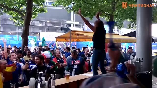 Пьяные танцы: как итальянцы празднуют победу
