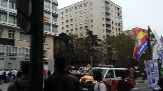 Столкновения в Мадриде перед матчем «Реал» — «Легия»
