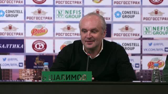 Пресс-конференция после матча «Краснодар» — «Амкар»