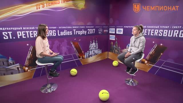 Симона Халеп: я самая преданная фанатка Федерера