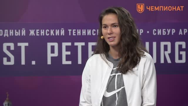 Вихлянцева: наслаждаюсь выступлением в Петербурге