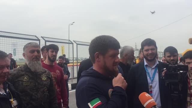 Кадыров: мы воспитаем классных гонщиков, которые прославят Россию