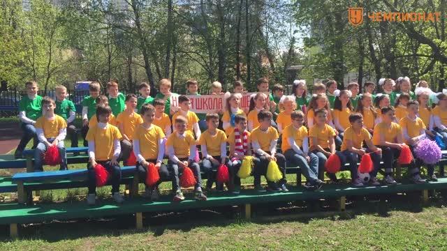 Денис Глушаков провёл «футбольный урок» в школе