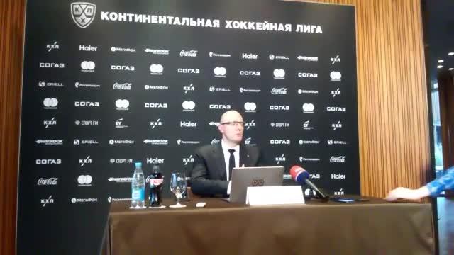 Президент КХЛ Дмитрий Чернышенко — об исключении «Кузни» и потолке зарплат