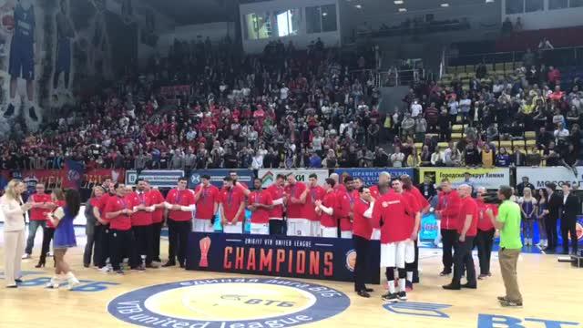 Нандо де Коло — MVP плей-офф Единой лиги ВТБ