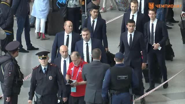Сборная Австралии прибыла в Москву для участия в Кубке конфедераций