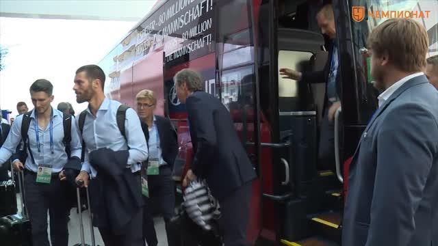 Сборная Германии прибыла в Сочи для участия в Кубке конфедераций