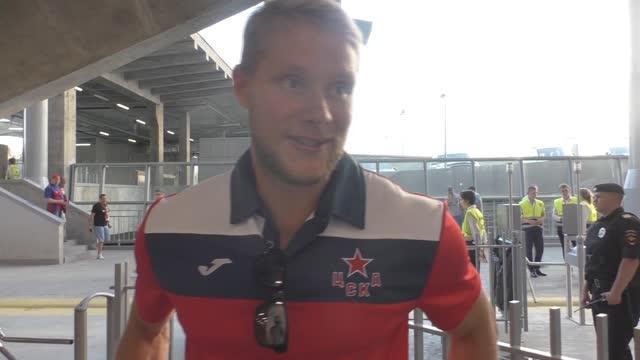 Хоккеист Андронов: почему поддержка не очень? Стесняемся