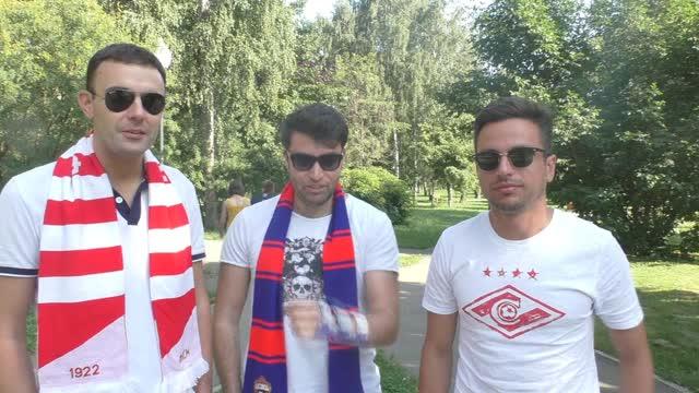 Болельщики ЦСКА и «Спартака»: как дружим? Нежно!