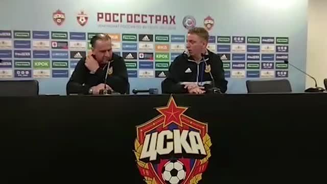 """Божович: «Надеюсь, против """"Локомотива"""" отмажемся за 0:6 от ЦСКА»"""