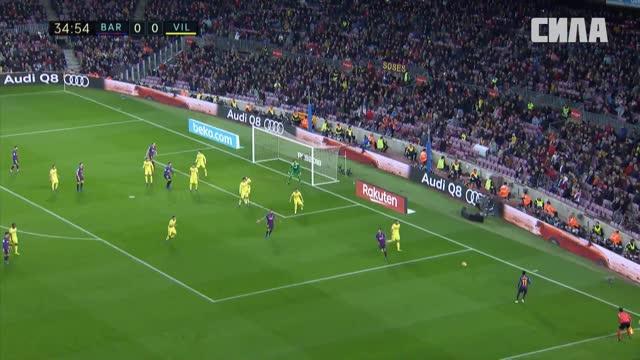 1:0. Пике («Барселона») открывает счёт