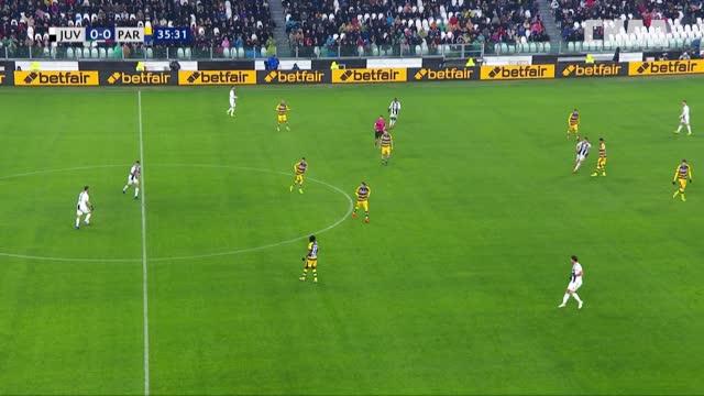 1:0. Роналду («Ювентус») открывает счёт