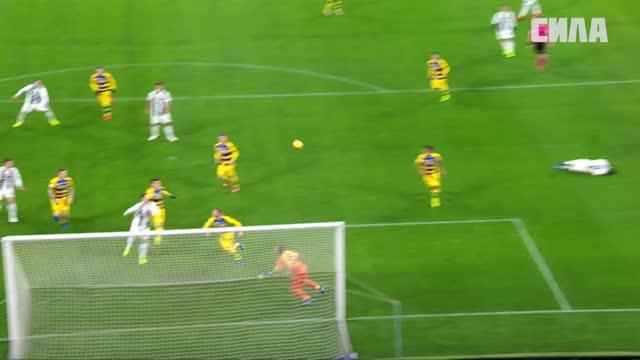 «Ювентус» не смог победить «Парму», несмотря на дубль Роналду