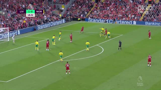 2:0. Салах («Ливерпуль») удваивает преимущество своей команды