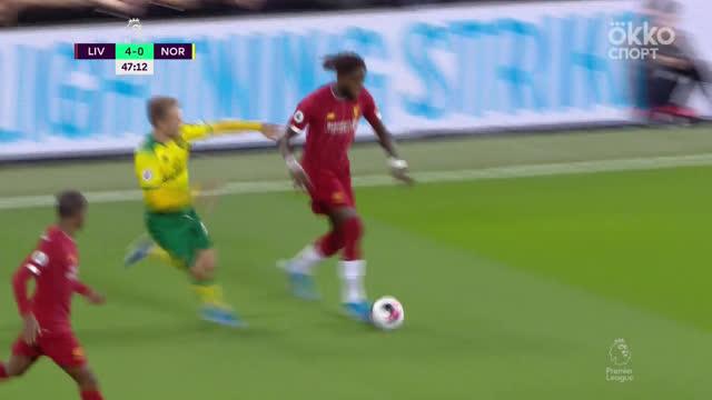 Два супермомента за одну атаку у игроков «Ливерпуля»