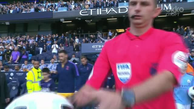 Обзор первого тайма матча «Манчестер Сити» — «Тоттенхэм»