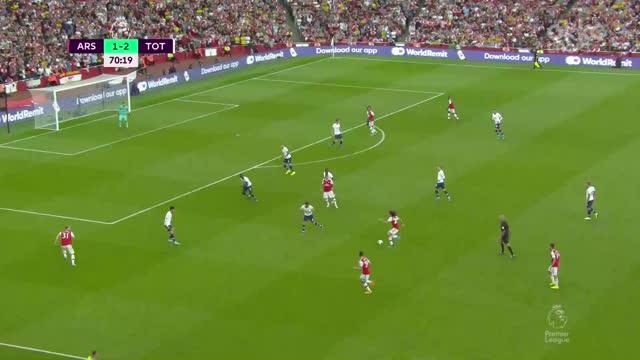 2:2. Обамеянг («Арсенал») сравнивает счет после паса Гендузи!