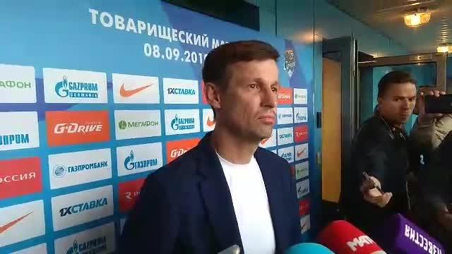 Сергей Семак — о матче с «Сочи», дебюте Осорио и Кокорине