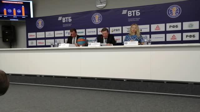 Иванов: проведение сезона обходится Единой Лиге ВТБ в 254 млн