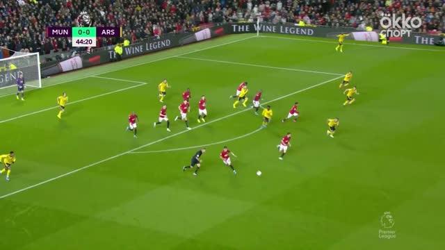 «Манчестер Юнайтед» и «Арсенал» сыграли вничью в матче АПЛ