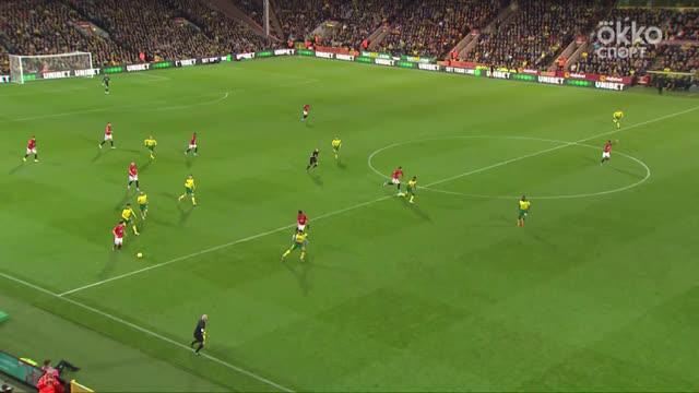 Два нереализованных пенальти — в обзоре «Норвич» — «Ман Юнайтед»