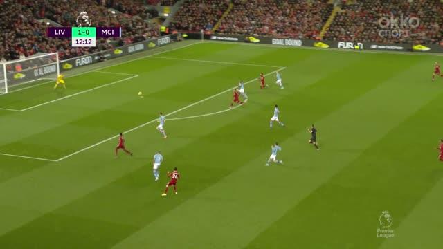 2:0. Салах («Ливерпуль») замкнул отличный кросс Робертсона
