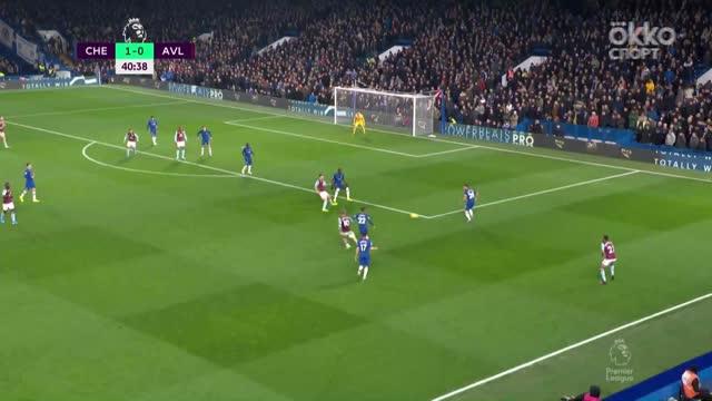 1:1. Махмуд Хассан («Вилла») буквально зашел с мячом в ворота