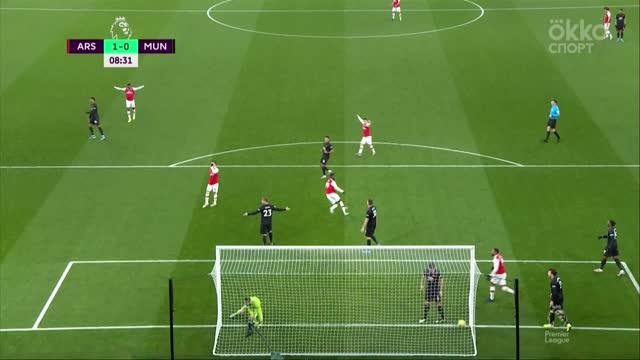 «Арсенал» обыграл «МЮ» в центральном матче 21-го тура АПЛ