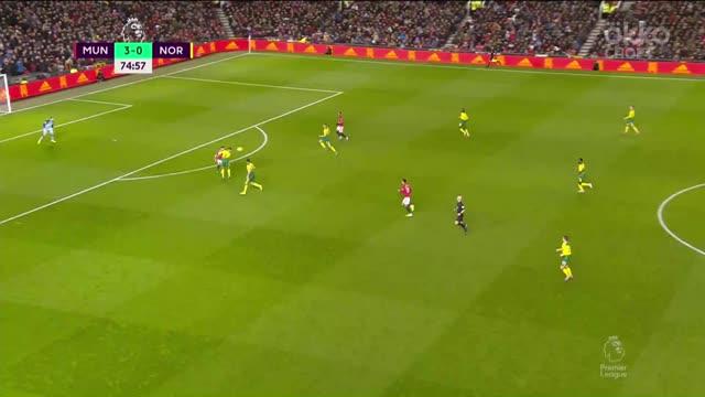 Гринвуд забивает четвертый гол «Юнайтед» в этом матче