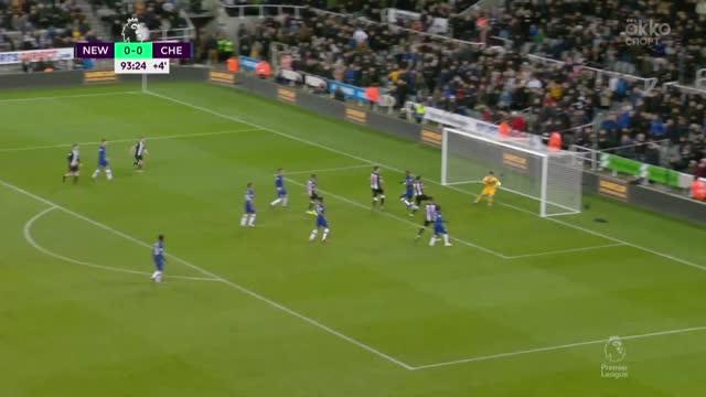 «Челси» проиграл «Ньюкаслу», пропустив на последней минуте