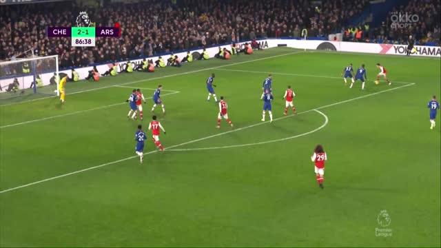 Бельерин спасает «Арсенал» от поражения в матче с «Челси»