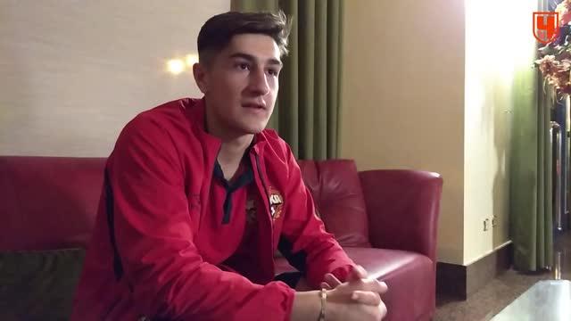 Марадишвили вспоминает дебют в ЦСКА