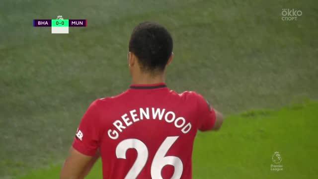 0:1. Гринвуд («Ман Юнайтед») раскачал защитника и открыл счет