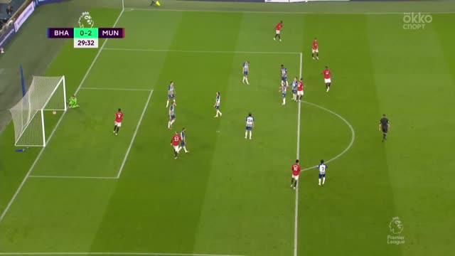 0:2. Фернандеш («Ман Юнайтед») отличился при помощи рикошета