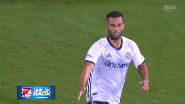 «Портленд Тимберс» обыграл «Филадельфию Юнион» в 1/2 финала MLS