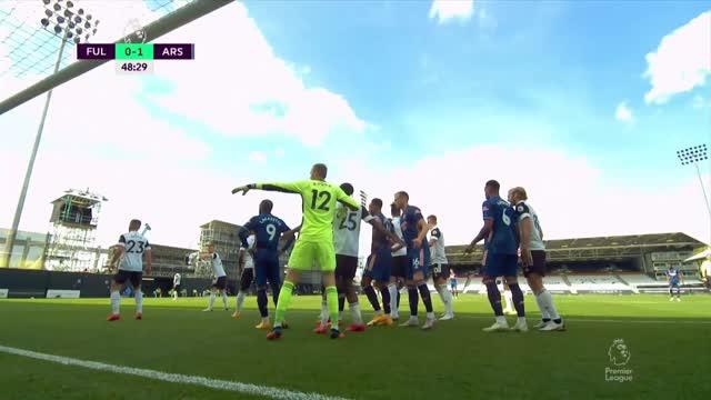 0:2. Габриэль («Арсенал») забивает свой дебютный гол