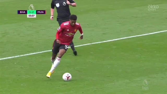 1:2. Рашфорд («Ман Юнайтед») забивает великолепный гол!