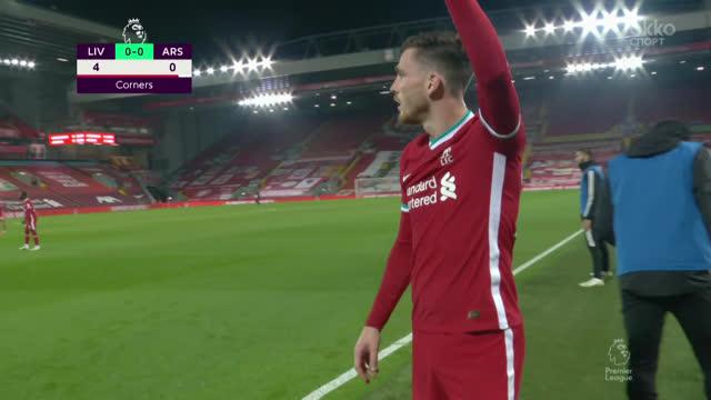 «Ливерпуль» одержал волевую победу в матче с «Арсеналом»