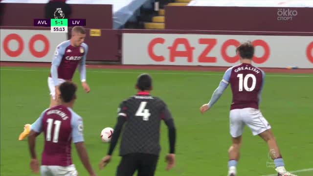 5:1. Баркли («Астон Вилла») забивает в свое дебютном матче