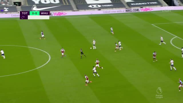1:0. Сон («Тоттенхэм») забивает очередной гол с передачи Кейна