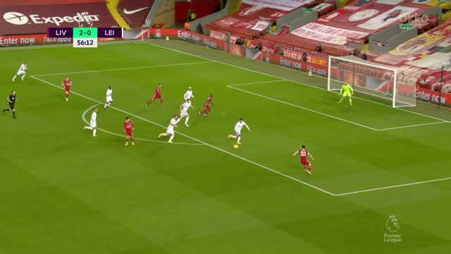 «Лестер» чудом остается в игре после ударов Жоты («Ливерпуль»)