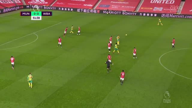 Де Хеа («Ман Юнайтед») тащит удар Таунсенда («Вест Бромвич»)