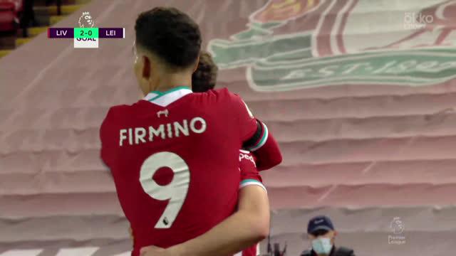 2:0. Жота («Ливерпуль») забивает после подачи Робертсона
