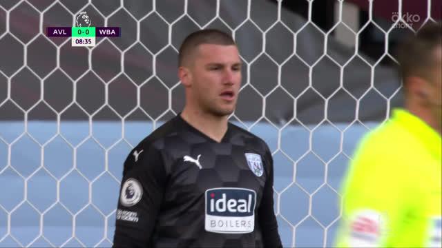 1:0. Эль-Гази («Астон Вилла») с пенальти открывает счет