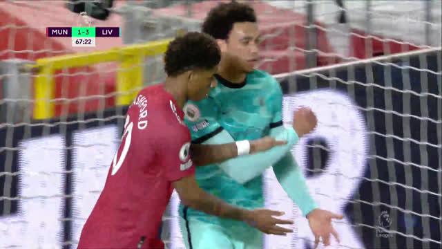 2:3. Рашфорд («Ман Юнайтед») с паса Кавани сокращает разрыв!