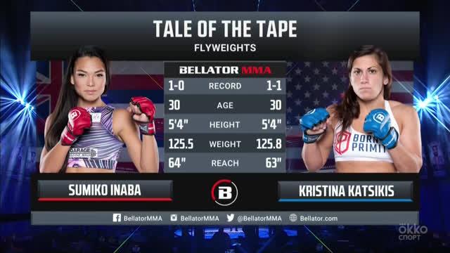 Bellator 259. Самико Инаба vs Кристина Кацикис