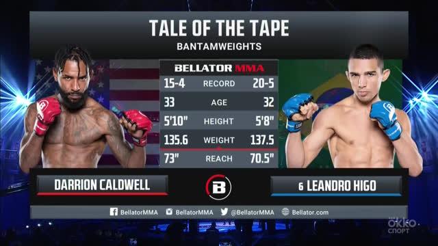 Bellator 259. Дэррион Колдуэлл vs Леандро Хиго