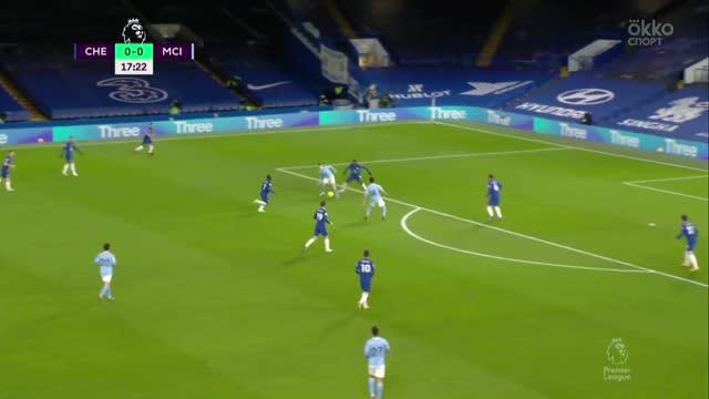 «Челси» — «Ман Сити» — 1:3. Все голы матча АПЛ